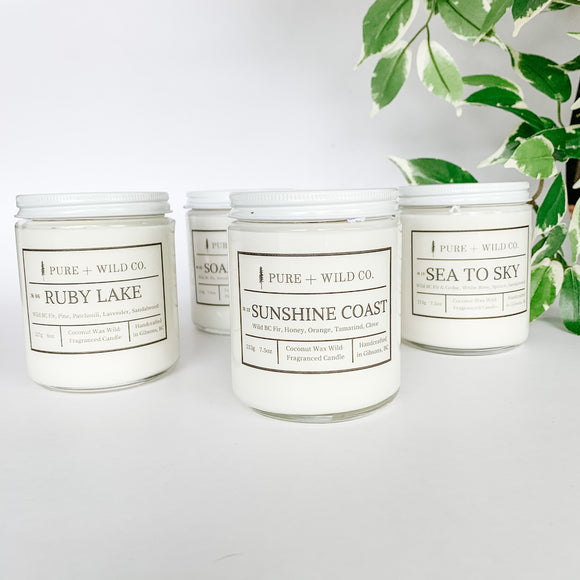 Pure+Wild Co Candle