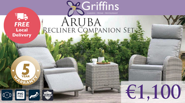 Aruba Recliner Companion Set