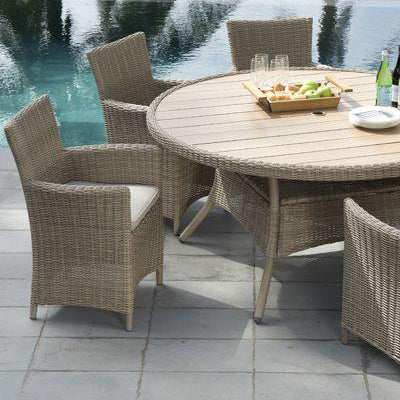 Martinique 6 Seater Dining Set