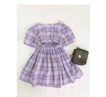 "Load image into Gallery viewer, Let's ""Plaid"" Outside-Dress"