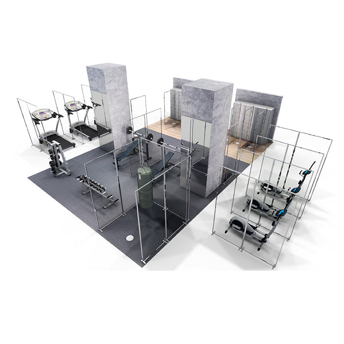 Gym Partitions and Barriers