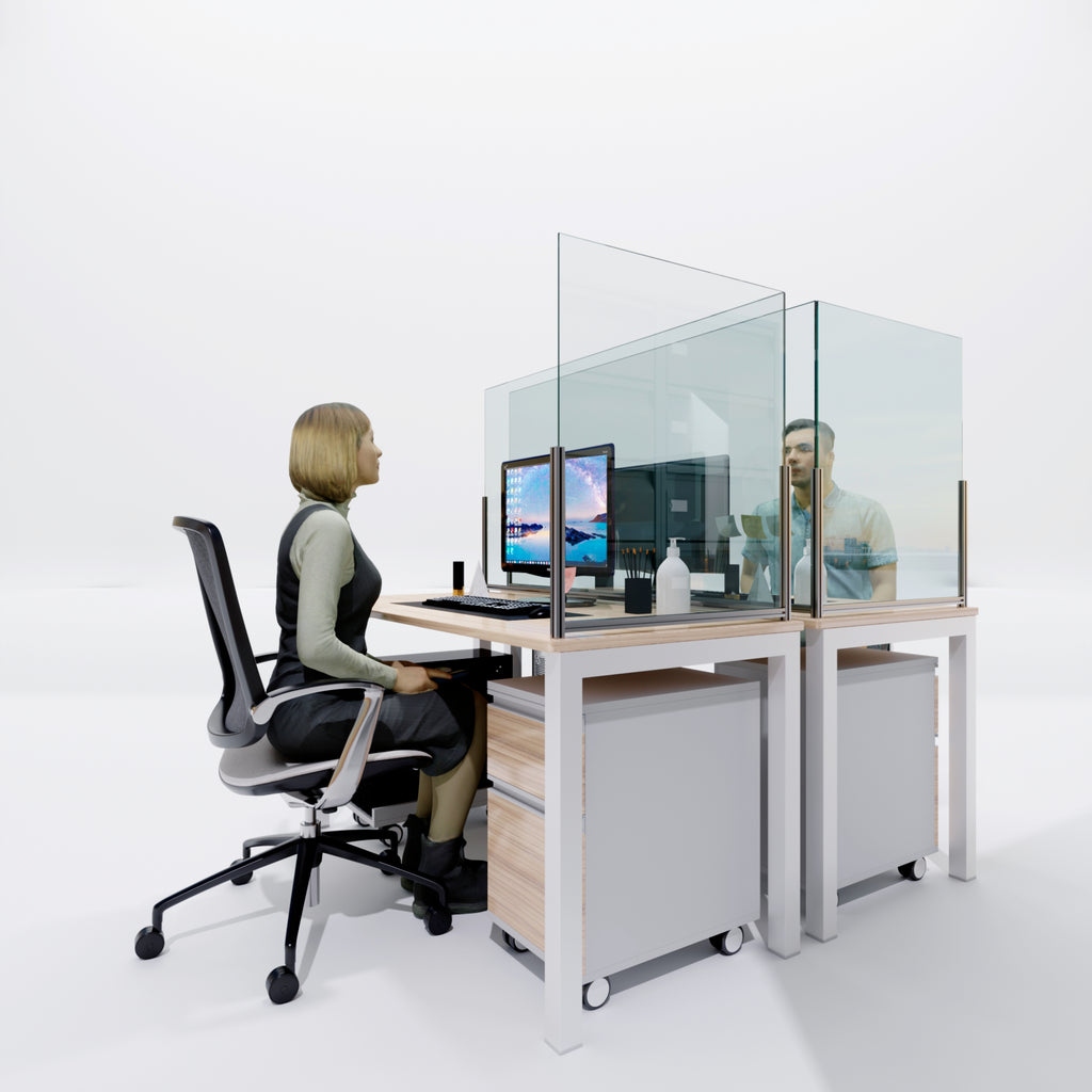 Office Desk Protective Screens