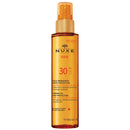 NUXE Sun Tanning Oil High Protection for Face and Body SPF 30