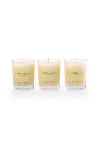 Christmas Travel Candle Trio