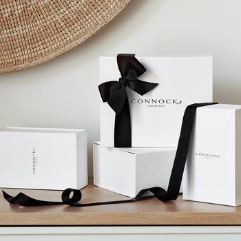 Gift Box - Black Ribbon