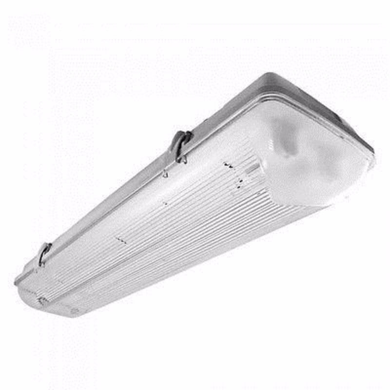 Twin T8 58W 240V Non-Corrosive Fluorescent Fitting