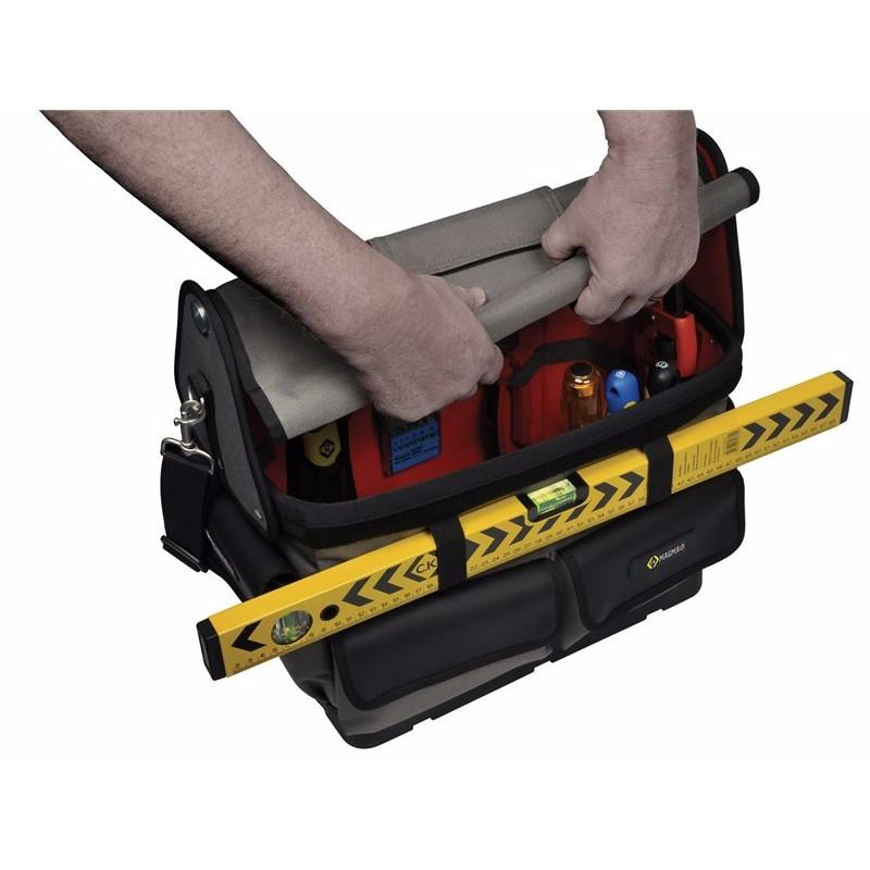 Tradesman & Technician Heavy Duty Tool Storage Open Tote Bag Case