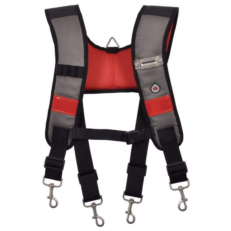 Heavy Duty Adjustable Padded Tool Belt Braces Storage Support