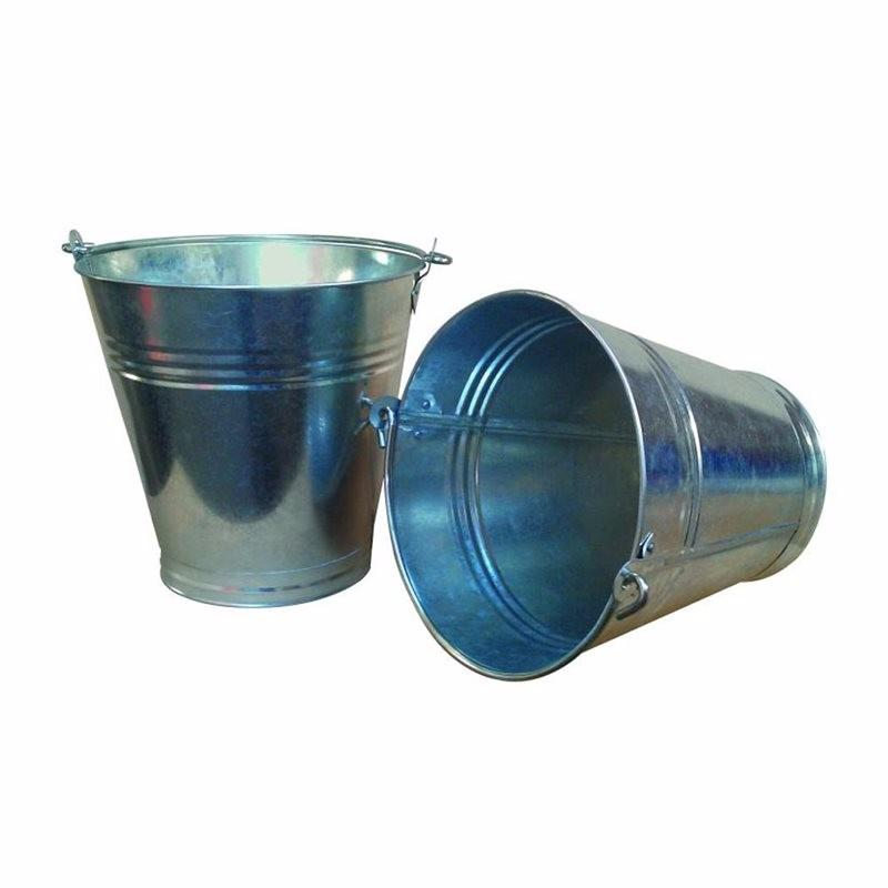 13 Litre Heavy Duty Galvanized Steel Bucket Pail