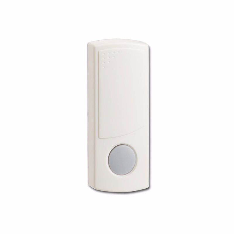 Wireless White Bell Push Doorbell Transmitter Switch