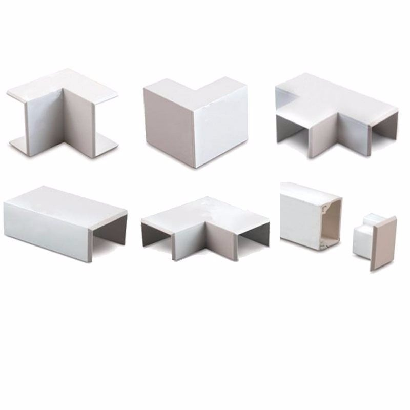 38mm x 38mm Mini Trunking Accessories - External Angle