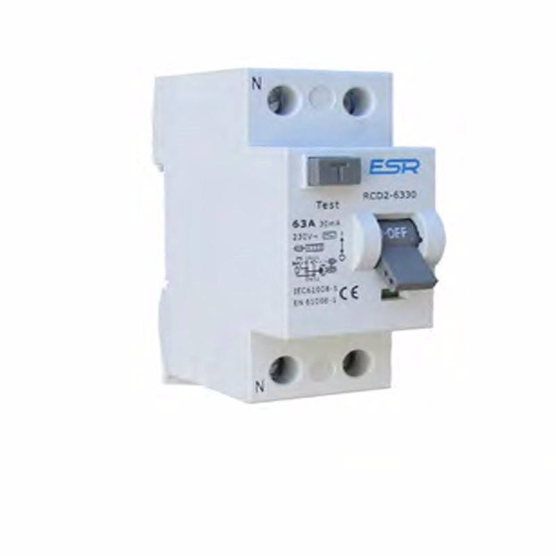 16A 30mA RCCB RCD 2 Pole Domestic Consumer Unit Circuit Breaker