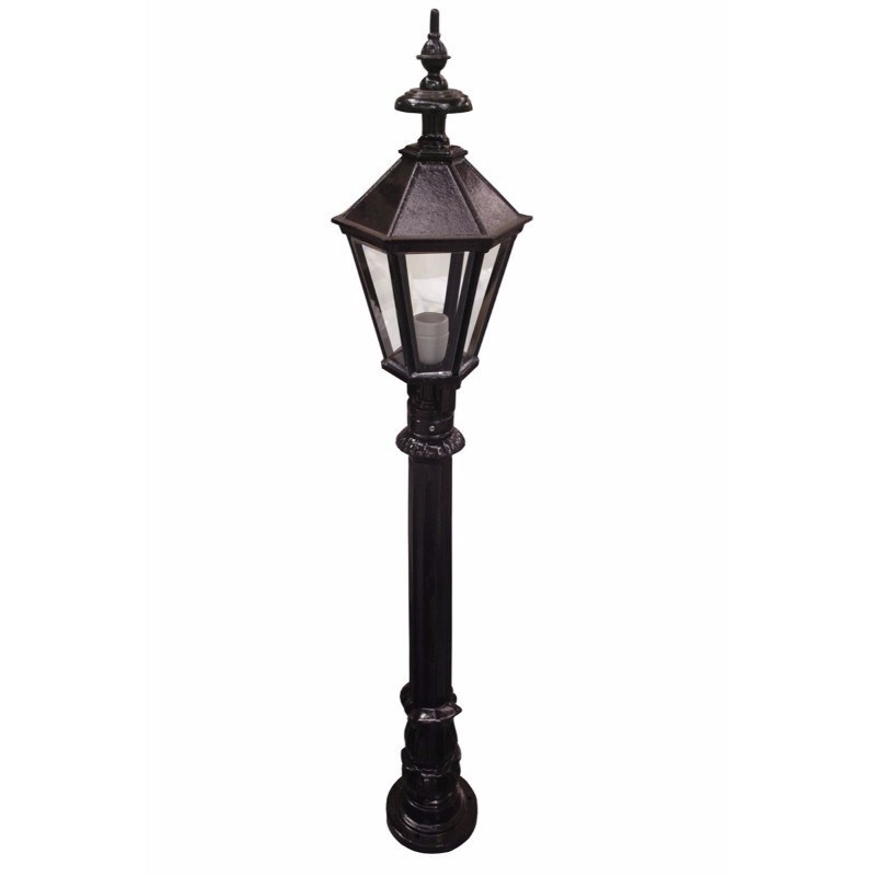 4Ft Traditional Black Garden Street Light
