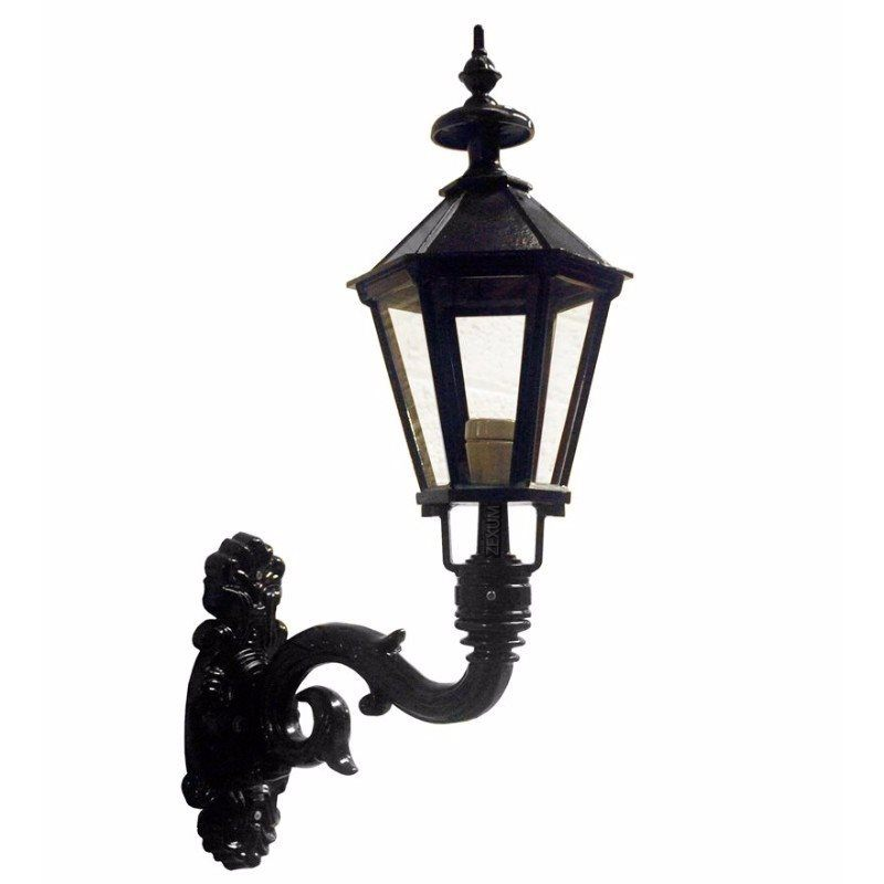 Black Traditional Wall Mounted Lamp