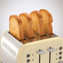 Cream Accents 4 Slice Toaster