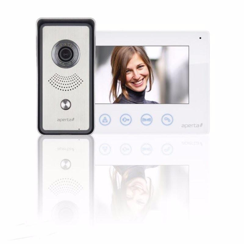 Aperta Single Way Colour Video Door Entry System Kit