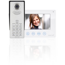 Aperta Single Way Colour Video Door Entry System Kit With Keypad