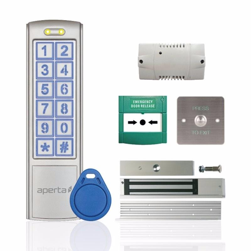 Aperta EZ-TAG3 Pro Proximity Key Tag & Keypad Door Entry Kit