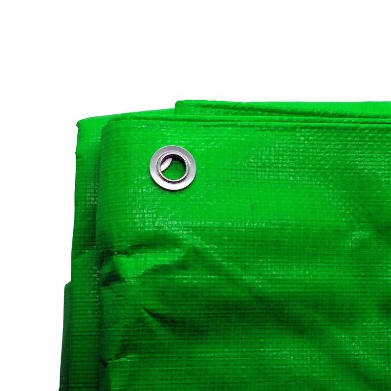 6ft x 9ft Heavy Duty Green Weatherproof Tarpaulin