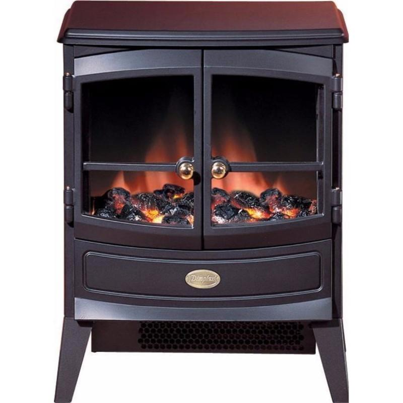 Springborne 2kW Optiflame Electric Stove - Black