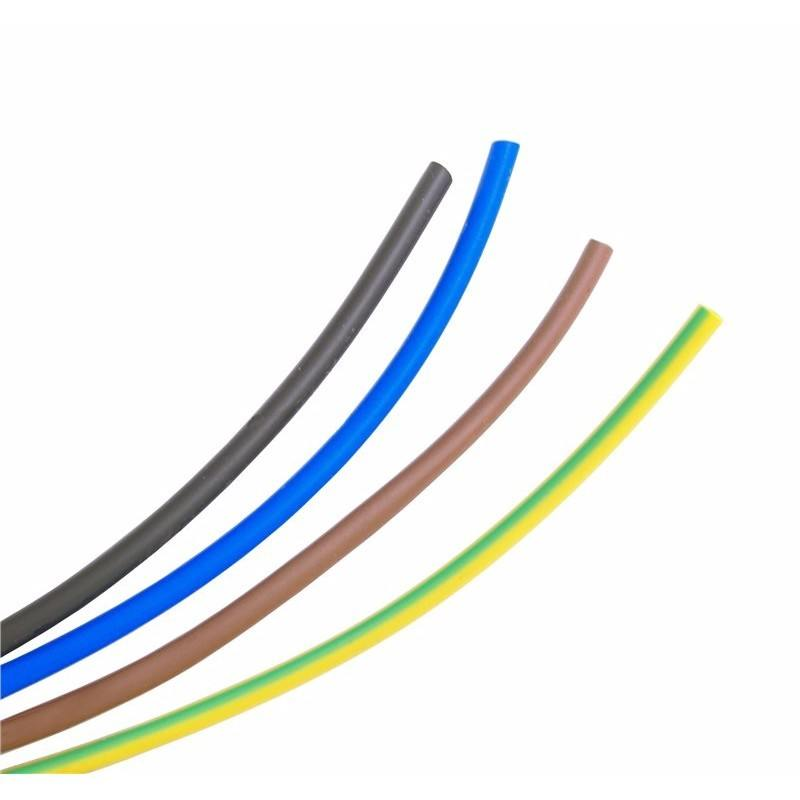 8mm PVC Cable Core Sleeving / Meter - Brown