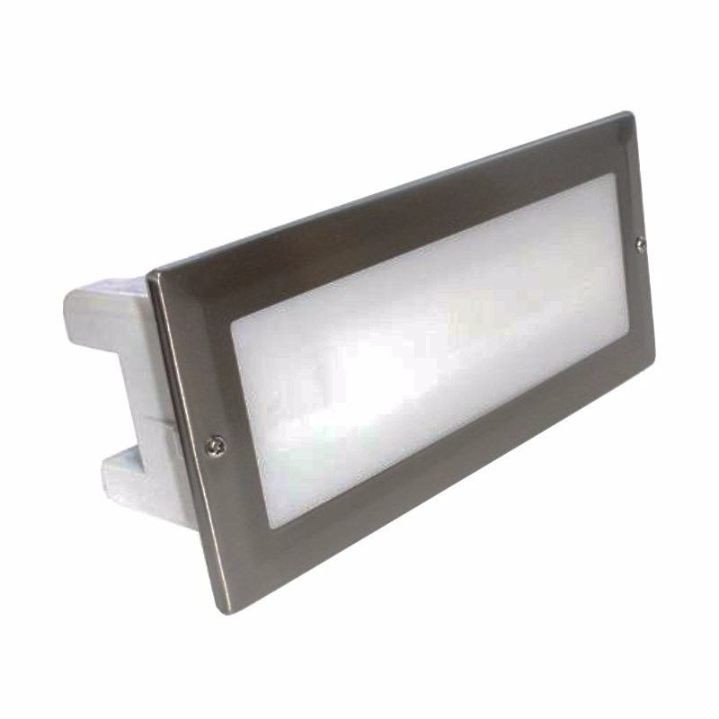 18W Low Energy Opal Diffused CFL Bricklight