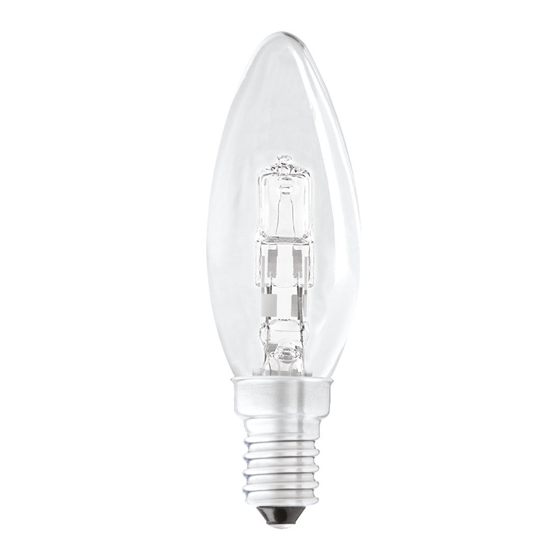 42W Halogen Small Edison Screw Candle Bulb