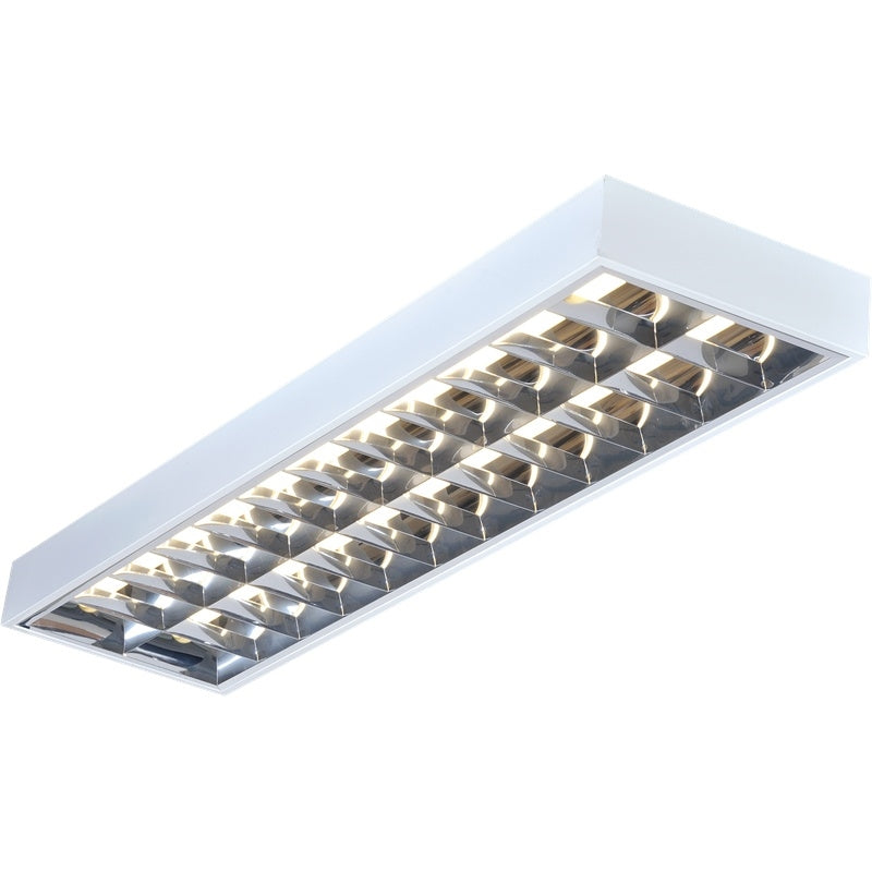 2x36W 4ft T8 Surface Mounted Fluorescent Fitting