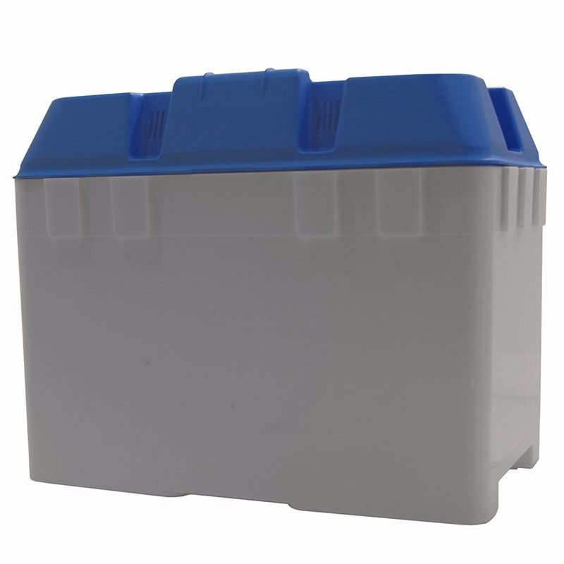 Medium Battery Box With Strap (in Blue)