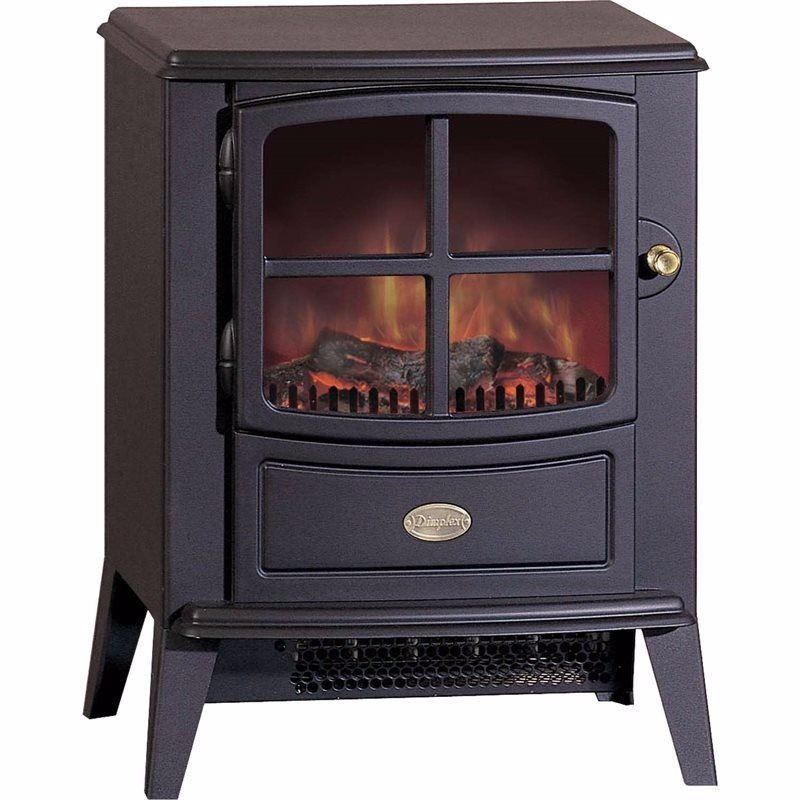 Brayford Optiflame Traditional Cast Iron Style Electric Stove (2019B Model)