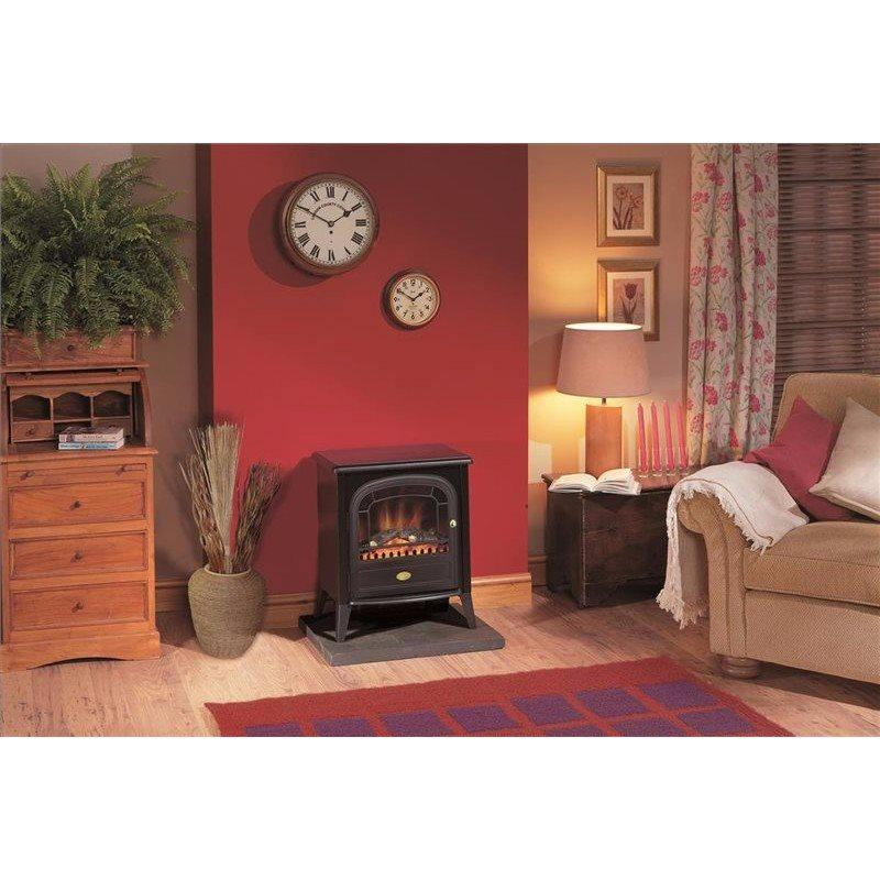 Club 2kW Freestanding Electric Stove with Optiflame (2019A Model)