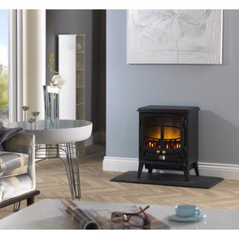 Tango 2kW Freestanding Electric Stove - Black (2019A Model)