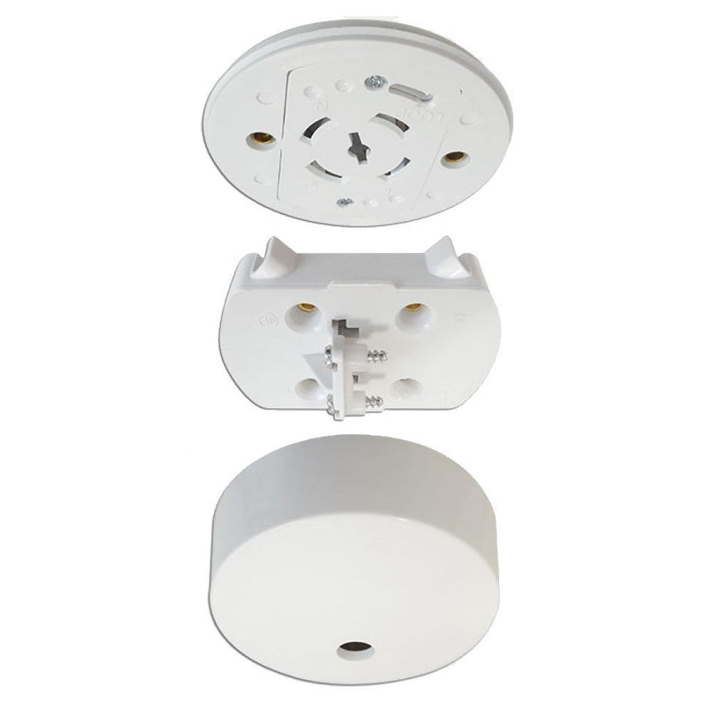 Pre Wired Plug in Ceiling Rose