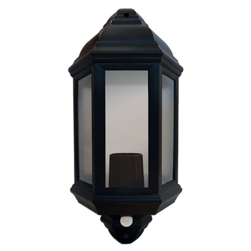 Half Lantern with 120 PIR Black