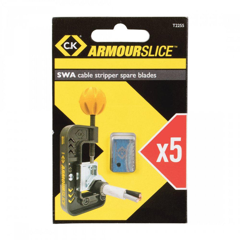 Replacement Blade for Armourslice SWA Cable Cutter - 5 Pack