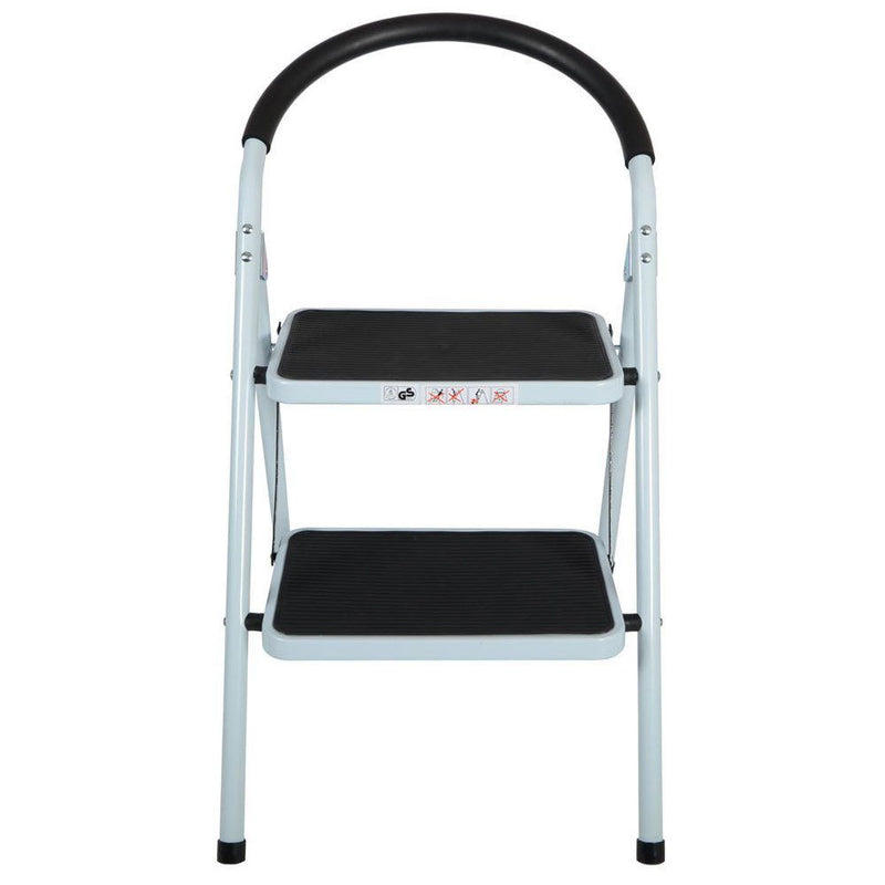 2 Step Folding Ladder with Rubber Grip