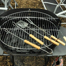 3 Piece Wooden Handle BBQ Tool Set