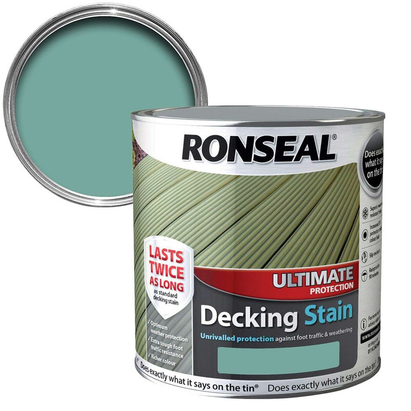 Ultimate Protection Decking Stain 5L - Sage