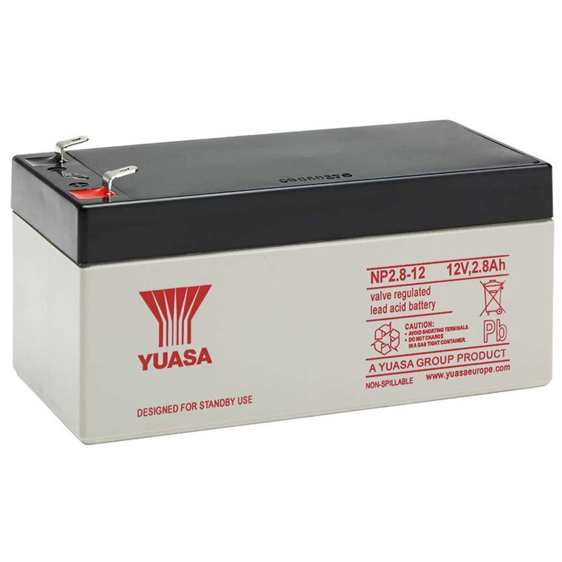 12V 2.8Ah Sealed Lead Acid Battery