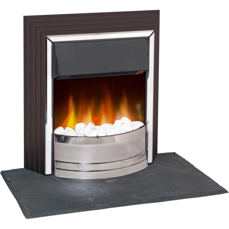 Zamora Freestanding Electric Fire