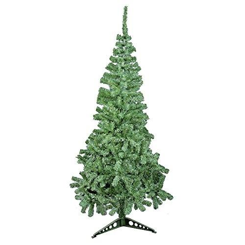6ft Artificial Green Christmas Tree with Plastic Stand