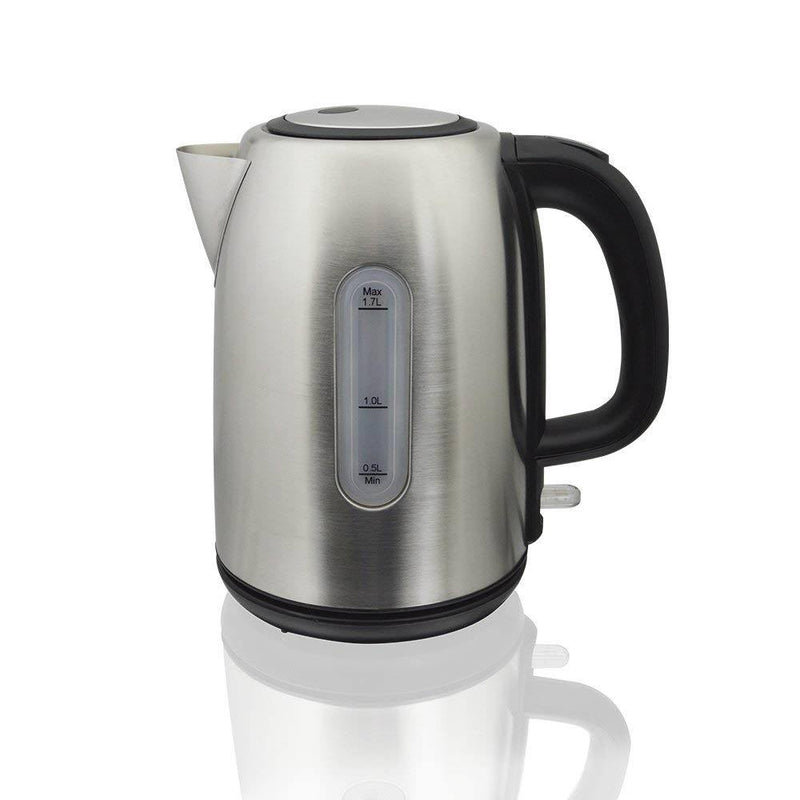 1.7 Litre Stainless Steel Cordless Kettle with Swivel Base