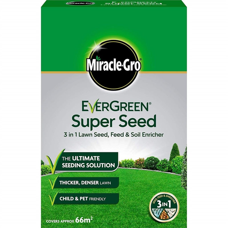 EverGreen Super Seed Lawn Seed 2kg - 66m?