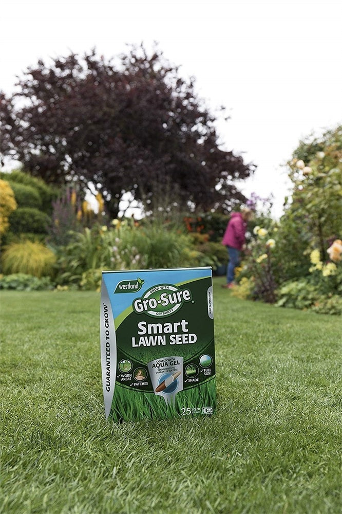 Aqua Gel Coated Smart Grass Lawn Seed, 250 m?, 10 kg Bag
