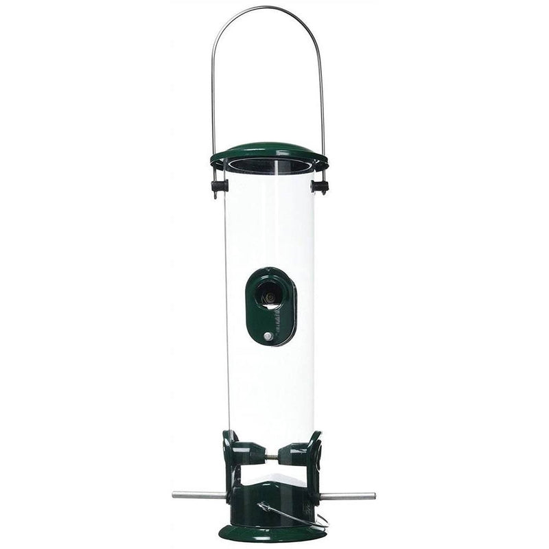 All Weather Metal Bird Seed Feeder, Large