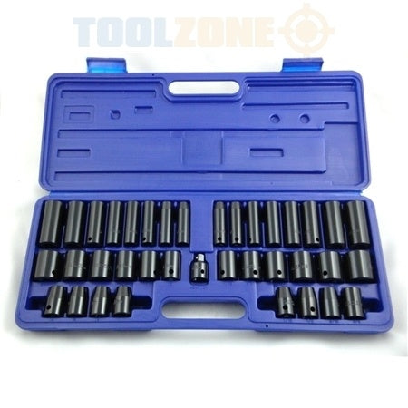 Impact Socket Set - 38 Piece