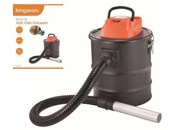 800W 15L Ash Can Vacuum Cleaner