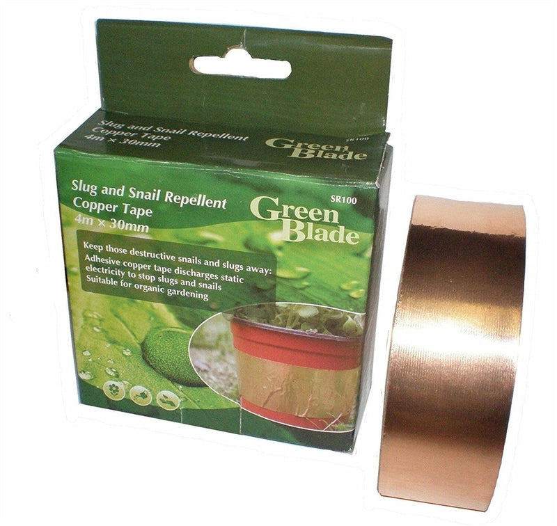 Slug Repellent Adhesive Copper Tape - 4m x 30mm