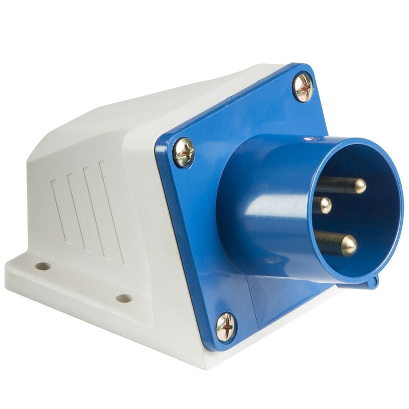 32A 2P+E 240V BLUE Appliance Inlet