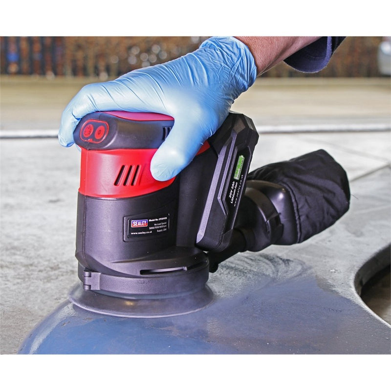 20V 125mm Orbital Palm Sander - Body Only